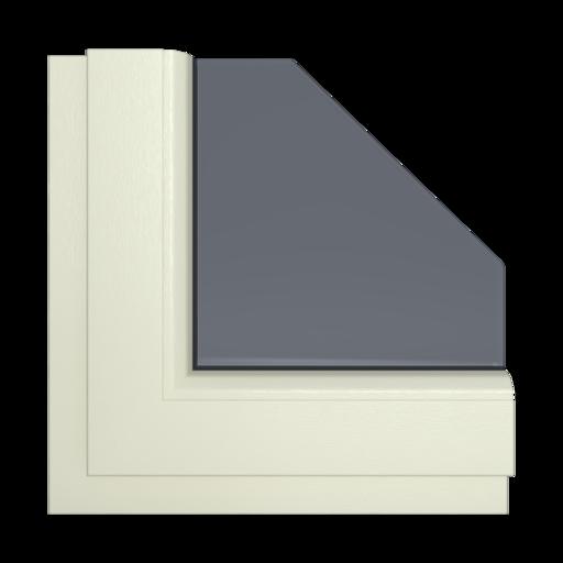 Okna Kolory Salamander Kremowy 59 Wewnętrzny