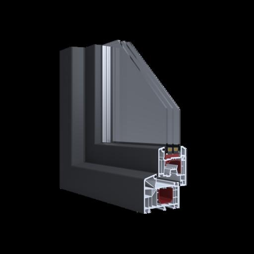 Profile Aluplast  Ideal 4000 85 mm